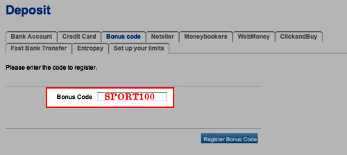 Nordic Bet Sportsbook Bonus Code: SPORT100